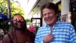 Pam and Dave at  The Islander Tiki Bar