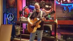 George Manosis at  Thirsty Turtle Seagrille