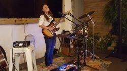 Victoria Cardona at  Das Biergarten