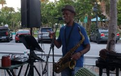 """Neil """"Toots"""" Franklyn at  Johnny Longboats"""