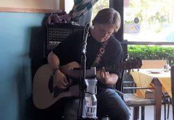 Geoff Livingston at  Aaron's Table & Wine Bar