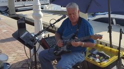 Charlie Eginton at  Sailfish Marina