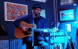 Mark Telesca at  Calaveras Cantina