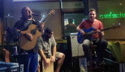 The Happiness Club Band at  Thirsty Turtle Seagrille