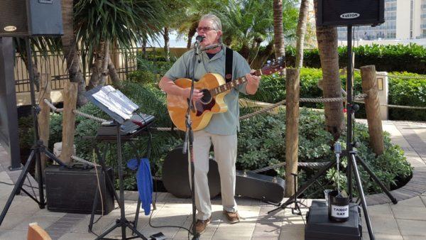 Tango Ray Morris at Rafiki Tiki