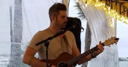 Xander James at  the Blue Pointe Bar and Grill