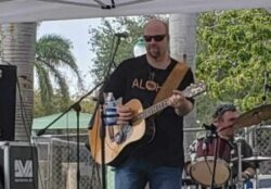 Jason Colannino at  the Thirsty Turtle Seagrille