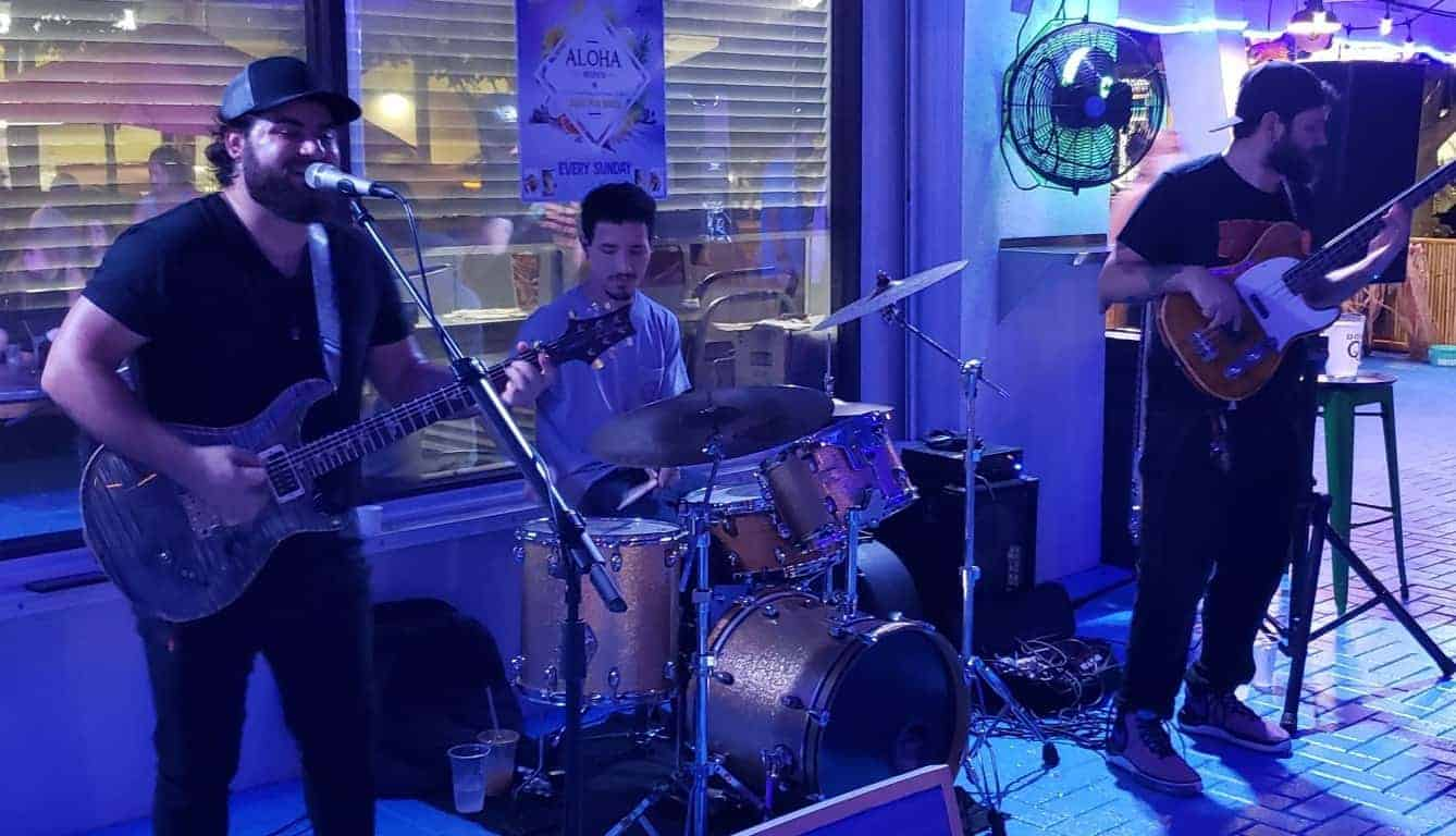 Jay Valor Band at the Blue Pointe Bar and Grill
