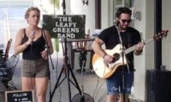 The Leafy Greens Band at  Salute Market