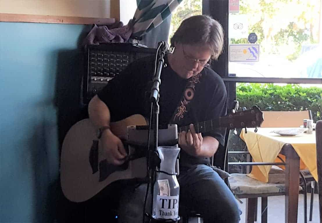 Geoff Livingston at Garden City Cafe