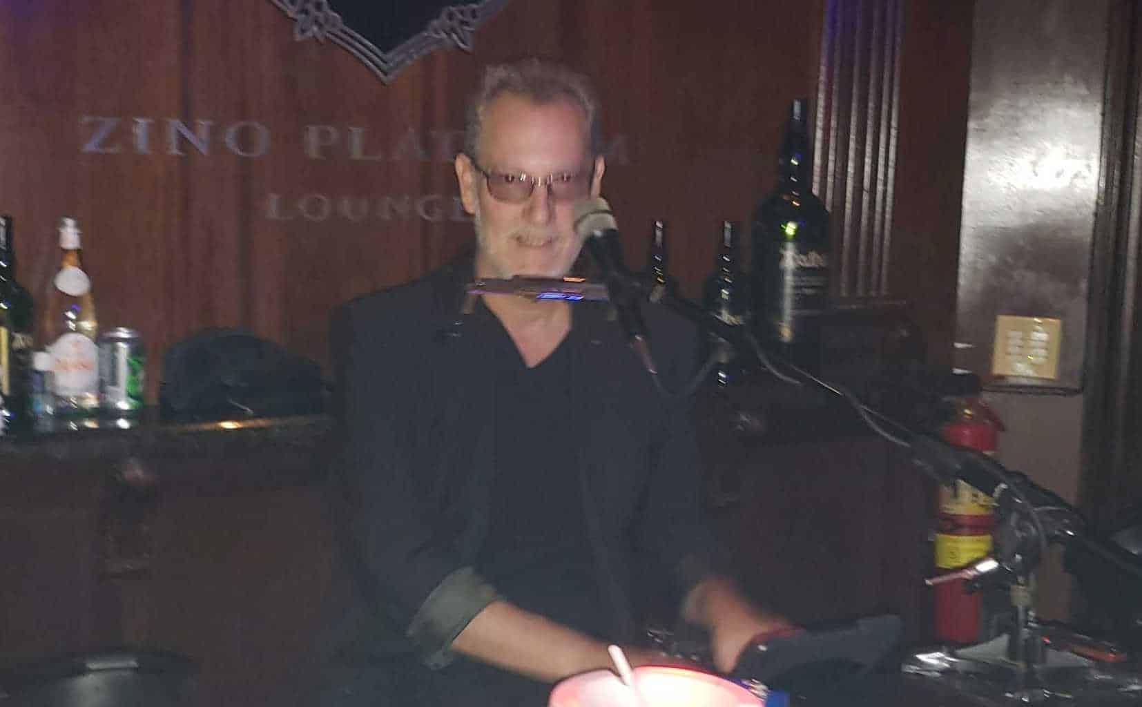 Johnny the Piano Man at Angry Moon Cigars