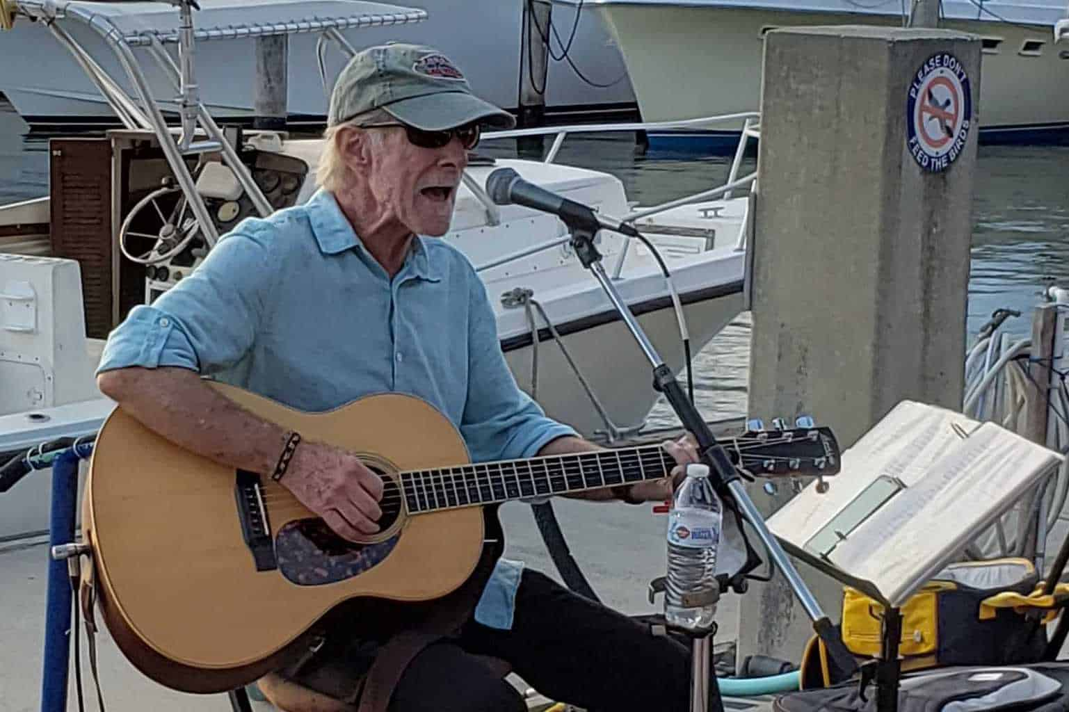 Bob Macdonald at Sailfish Marina