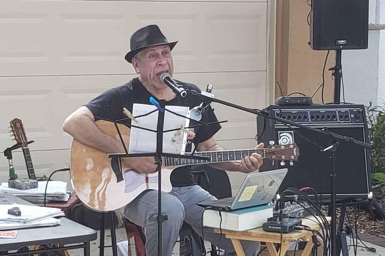 Mike Menexis at Rafiki Tiki