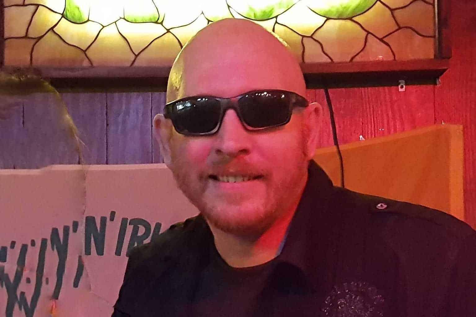 Mike Hill at Calaveras Cantina